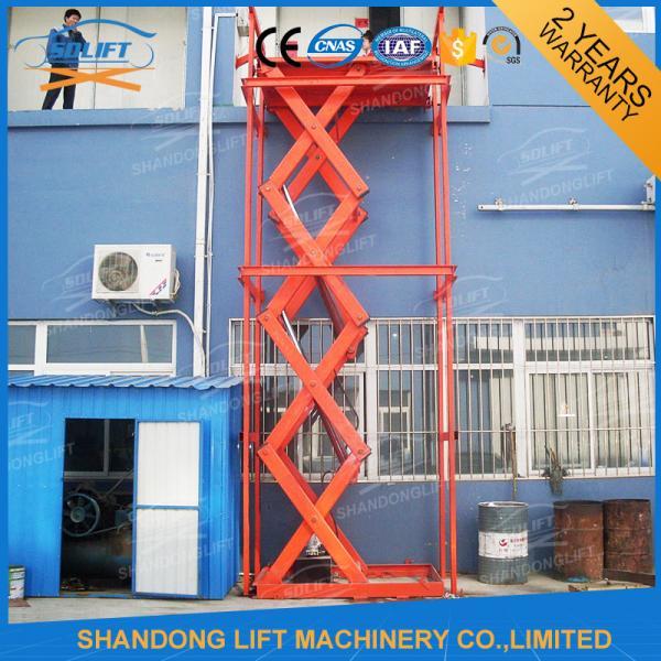 Quality Ascenseur hydraulique stationnaire de ciseaux d'acier inoxydable for sale
