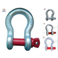 China Forged G209 Screw Pin Bow Anchor Shackle wholesale