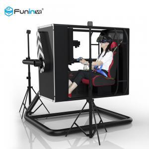 China Indoor Arcade 9D VR Game Machine Virtual Reality Flight Simulator Blue / Black / Yellow wholesale