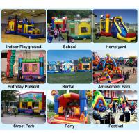 Cheap vivid PVC inflatable bouncy used party jumpers for sale