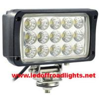 Buy cheap 45W IP68 waterproof LED work light,truck led lights from wholesalers