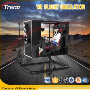 Buy cheap Três cores jogo emocionante de gerencio do tiro da experiência de 720 vidros de Flight Simulator VR da cabina do piloto do grau para corajoso from wholesalers
