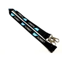 Special Two Metal Hooks Custom Printed Lanyards Safety Breakaway Attachments