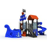 China Pirate Ship Themed Daycare Outdoor Playground Equipment Sea Sailing Type With for sale