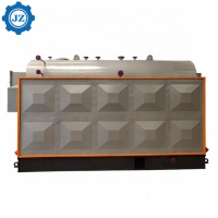 China 2 Ton 150 Psi DZH Manual Type wood Chips Fired Steam Boiler For Fertilizer Factory wholesale
