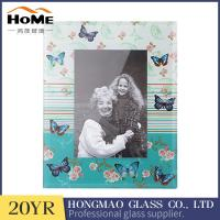 China Digital Print 5x7 Glass Photo Frames , Beautiful Glass Picture Photo Frame on sale