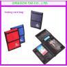 China Three folding design card bags, folding card bag, card holder wholesale