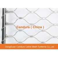China Flexible Stainless Steel Wire Rope Fence Mesh For Animal Enclosure wholesale