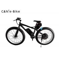 China 125KG Loading Electric Fat Tire Sand Bike Wide Tire Bicycles 80km Riding Distance wholesale
