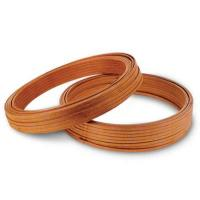 China Self-bonding glass fiber wrapped mica tape covered rectangular copper wire wholesale