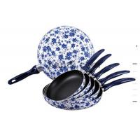 China Door Skin Stretching Fry Pan with Decoration wholesale