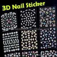 China Static sticker 3D Nail Sticker wholesale