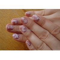 Buy cheap Static sticker 3D nail sticker from wholesalers