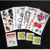 Buy cheap Static sticker Tattoo sticker from wholesalers