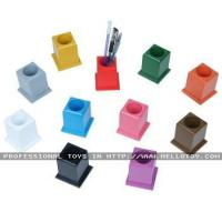 China Set of 11 Colored Pencil Holders Crafts  Educational &nbsp wholesale
