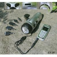 China Hand Dynamo Wind Up Charger Hand Crank Dynamo Mobile Phone Charger With Flashlight & Radio & Alarm wholesale