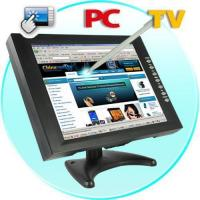Buy cheap 12 Inch LCD Touch Screen Monitor for Computers, TV + DVD Player from wholesalers