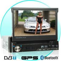 Buy cheap 1-DIN GPS Media Player with 7 Inch Touch Screen and DVB-T from wholesalers