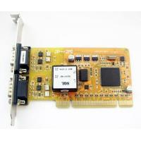 China Multiport Serial Car 2 RS485/422 serial port expansion card (optical isolated) wholesale