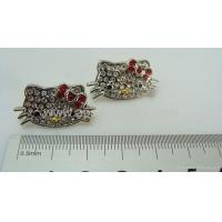 China Hello kitty earrings+hot selling jewelry wholesale