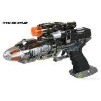 China Rotation Laser Gun with Blue LED and Sound-Laser Toy Gun on sale