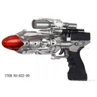 China Rotation Laser Gun with Red LED and Sound 822-09-Laser Toy Gun on sale