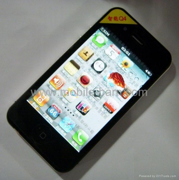 China 8GB iphone 4G copy Q4 Windows mobile 6.5 Multi-touch 3.5
