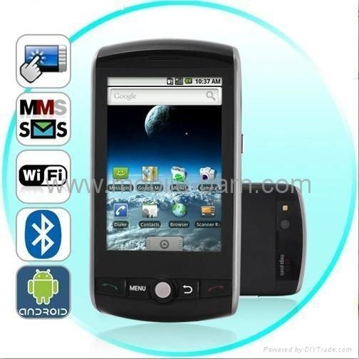 China 3.6 Inch Android 2.2 GPS Capacitive Touch Screen Smart Phone F602