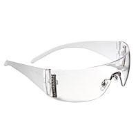 Quality Sperian W100 Series Safety Glasses, Clear Hardcoat Lenses, Clear Frosted Frame for sale