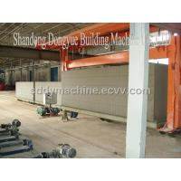 China Aerated Autoclaved Concrete Block Machine on sale