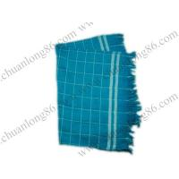China Catogory:products in stockProduct Name:Grid tea towelProduct Code:zh012Description:100% cotton grid tea towel wholesale