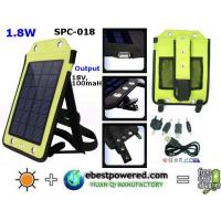 China Solar Laptop Charger Prdduct 1.8W portable solar charger(SPC-018)Model Number:SPC-018 wholesale
