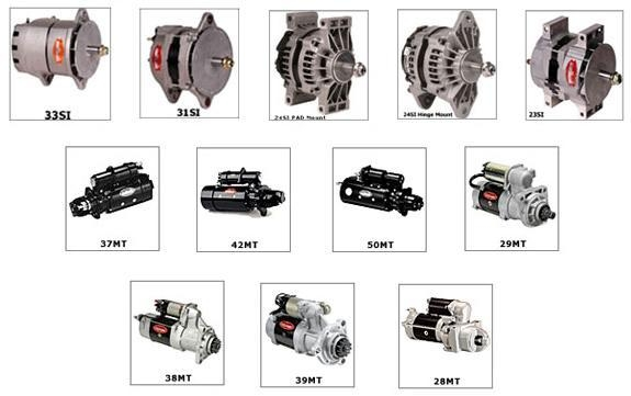 delco remy alternator images