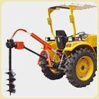 China COMBINE HARVESTER POST HOLE DIGGER wholesale