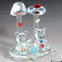 China crystal animal Crystal animal Crystal animal gifts wholesale