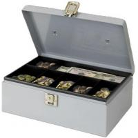 China Cash Boxes Solid Steel CashBox with Inner Movable Plastic BoxModel:WL-D20 wholesale