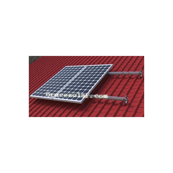available framed solar panels and diverse roof types, and they