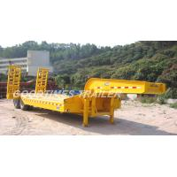 China LOW BED SEMI-TRAILER wholesale