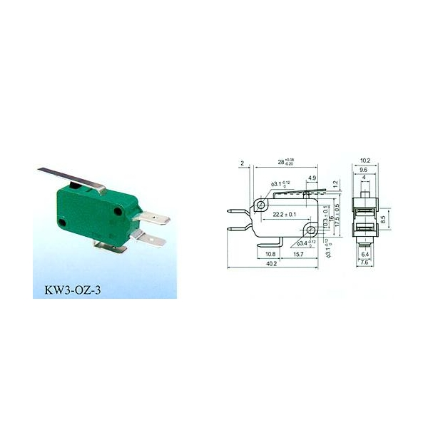 Micro Switch KW3-OZ-1 images,View Micro Switch KW3-OZ-1 photos of ...