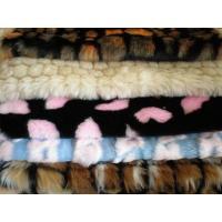 China jaquard fake fur fabric Jacquard Fake Fur wholesale