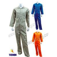 China Light Duty FR Cotton Coverall  Flame Resistant Cotton Coverall on sale
