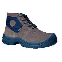 China Suede Leather Safety Shoes Suede Leather  Safety Boots CYB007 wholesale