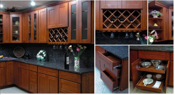 prefinished kitchen cabinets