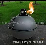 China Patio Torch,Smudge Pot,Metal Torch wholesale
