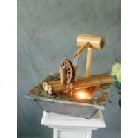 China Table fountain with light on sale