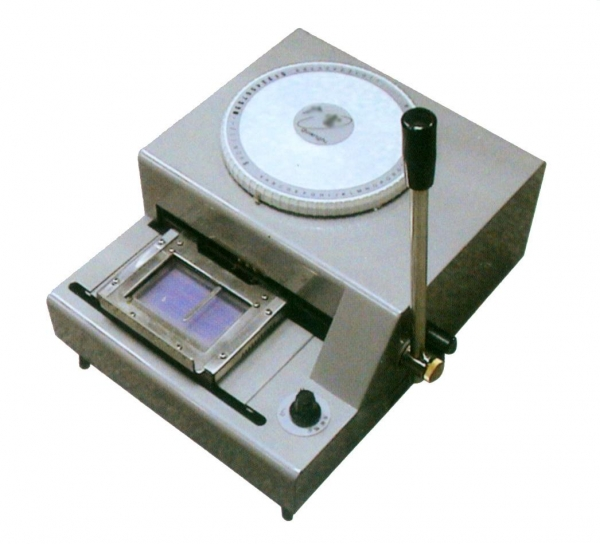 Embossing Machines For Card Making Pvc Card Embosser Machine