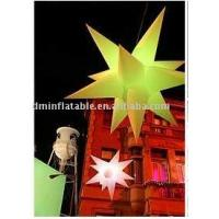 inflatable star holiday decoration