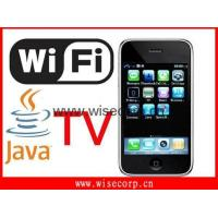 China Iphone 3G Wifi Java TV Quad Band Mobile Phone on sale