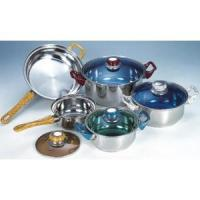 China Cookware 9-PCS STAINLESS STEELCOOKWARE SET wholesale