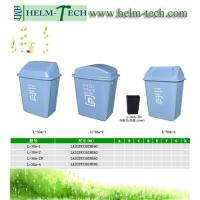 China plastic recycle square dustbin-L-30A wholesale